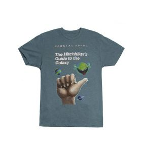 Out of Print: The Hitchhiker's Guide to the Galaxy T-Shirt - Unisex (Medium)