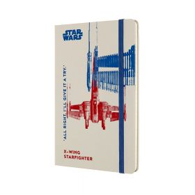 Moleskine Limited Edition Star Wars Notebook, Ruled, X-Wing (Hardcover)