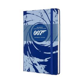 Moleskine Limited Edition James Bond Notebook, Ruled (Hardcover)
