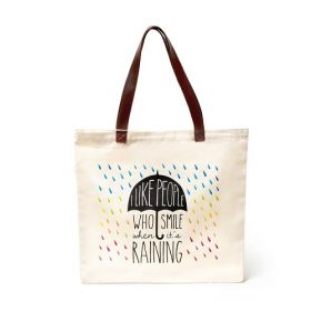 Legami Bags & Co: After The Rain Comes the Rainbow Shopping Bag