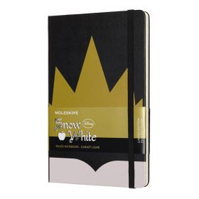 Moleskine Limited Edition Notebook Crown Large Ruled - Snow White