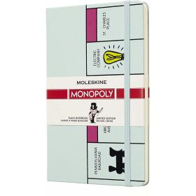 Moleskine Limited Edition Notebook Large Plain - Monopoly Board (Hardcover)