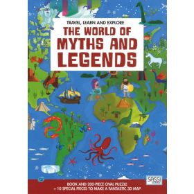 Travel, Learn and Explore: The World of Myths and Legends (Hardcover)