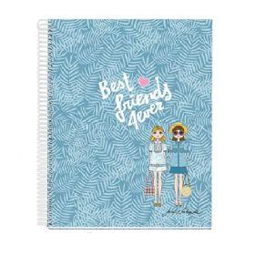 Miquelrius: A4 Notebook, Jordi Labanda - Best Friends