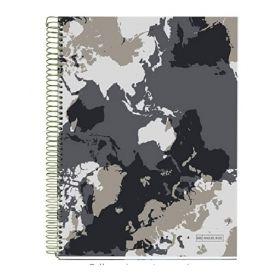 Miquelrius: A4 Notebook (World Map)