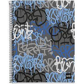 Miquelrius: A4 Grid Notebook (Street Art)