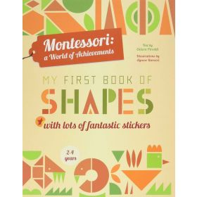 My First Book of Shapes: Montessori: A World of Achievements (Paperback)