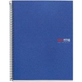 Miquelrius: A5 Wirebound Notebook (Basic Blue)