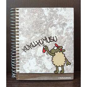 Miquelrius: A6 Spiral Notebook (Kukuxumusu, Graffiti)