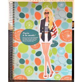 Miquelrius: A4 Spiral Notebook (Jordi Labanda, Paris Street Style)