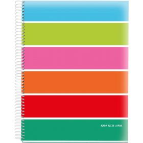 Miquelrius: A4 Grid Notebook (Agatha Ruiz de la Prada - Basics)