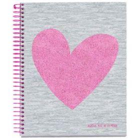 Miquelrius: A5 Agatha Ruiz de la Prada Grid Notebook (Love)