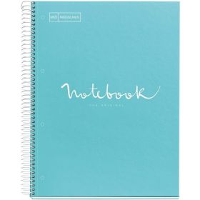 Miquelrius:  A4, Emotions Dotted Notebook (Sky blue)