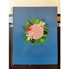Miquelrius: A4 Jordi Labanda Horizontal Notebook (Flamingo)