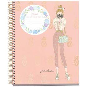 Miquelrius: A4 Spiral Notebook- Ruled (Jordi Labanda, Smile)