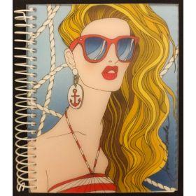 Miquelrius: A6 Spiral Notebook (Jordi Labanda, Summer)