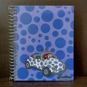 Miquelrius: A6 Spiral Notebook (Kukuxumusu, Mari)