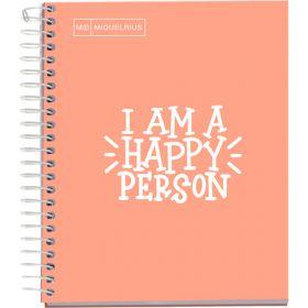 Miquelrius: Messages A5 Notebook (Peach)