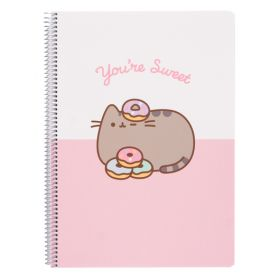 Pusheen the Cat: Rose Collection A4 Notebook (You're Sweet)