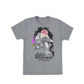 Out of Print: The Great Adventures of Sherlock Holmes Unisex T-Shirt (Large)