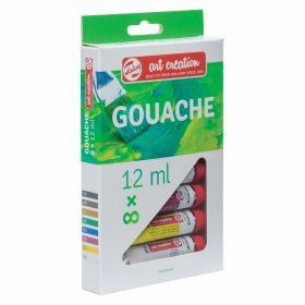 Royal Talens: Art Creation 8-Color Gouache Set (12 ml)