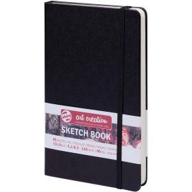 Talens Art Creation: Sketchbook - Black 13x21 cm