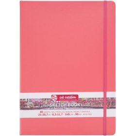 Royal Talens: A4, Art Creation Sketchbook (Coral Red)