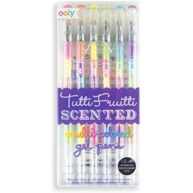 ooly: Tutti Frutti Gel Pens, Fruity Scented Pen