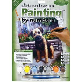 Royal & Langnickel: Painting by Numbers (Garden Puppy)