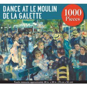 Dance at Le Moulin De La Galette: 1,000 Piece Jigsaw Puzzle
