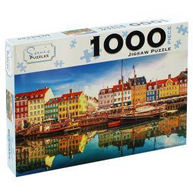 Scenic 1000 Piece Puzzles: Copenhagen, Denmark