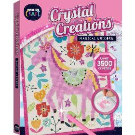 Curious Craft: Crystal Creations Canvas Magical Unicorn (Mixed Media)