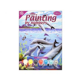 Royal & Langnickel: Painting by Numbers (Dolphins)