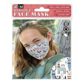 Llamas: ONS Washable Face Mask (Medium)