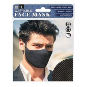 Carbon Fibre: ONS Washable Face Mask (Large)