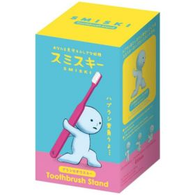 Smiski: Toothbrush Stand Holding, Carrying (Pink)