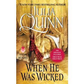 When He Was Wicked: Bridgertons, Book 6 (Mass Market)