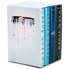 Red Queen, 4-Book Boxed Set (Hardcover)