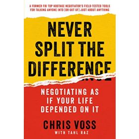 Never Split the Difference: Negotiating as If Your Life Depended on It, Export Edition (Mass Market)