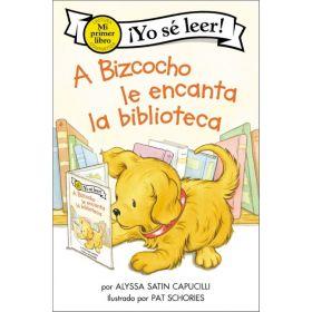 A Bizcocho le encanta la biblioteca: Biscuit Loves the Library, Spanish Edition (Paperback)