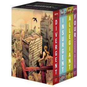 Divergent, Anniversary 4-Book Box Set (Paperback)