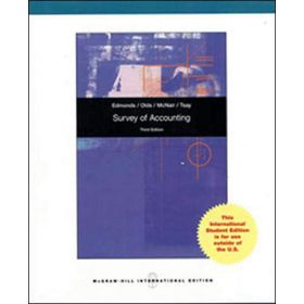 Survey Of Accounting, International Edition (Paperback)