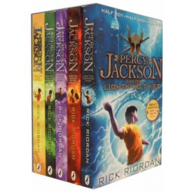 Percy Jackson 5-Book Collection Boxed Set (Paperback)