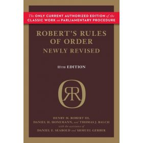Robert's Rules of Order, Newly Revised, 11th Edition (Paperback)