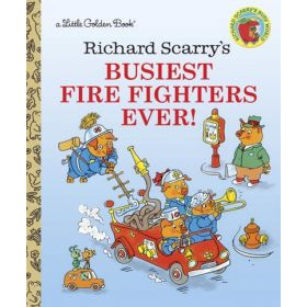 Richard Scarry's Busiest Firefighters Ever! (Hardcover)