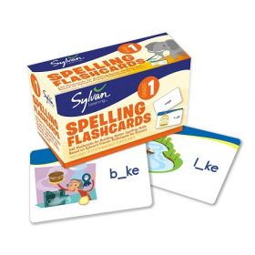 Sylvan Learning: 1st Grade Spelling Flashcards (Cards)
