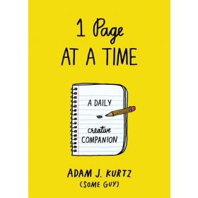 1 Page at a Time: A Daily Creative Companion (Paperback)