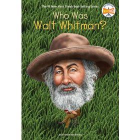Who Was Walt Whitman? (Paperback)