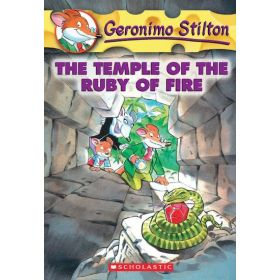 The Temple of the Ruby Fire: Geronimo Stilton, Book 14 (Paperback)