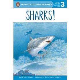 Sharks!, Penguin Young Readers, Level 1 (Paperback)